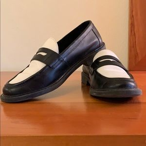Cole Haan black/white loafers. Excellent condition